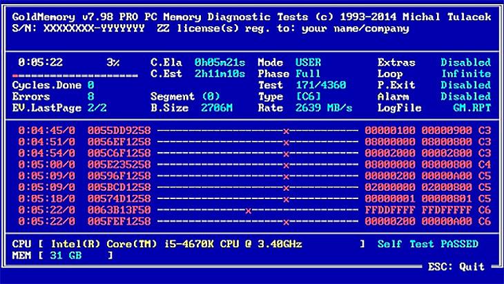 GoldMemory v7.98 Pro