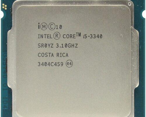 Intel i5-3440