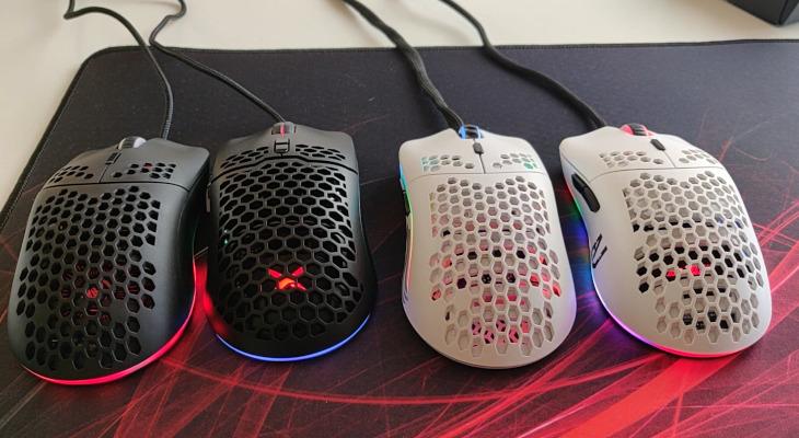 4 мышки