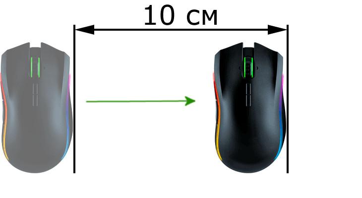 Измерить DPI мыши